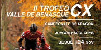 Cartel anunciador del Ciclocros de Sesué