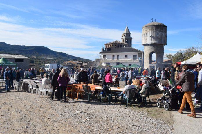 Ambiente en la Feria de San Martín (Foto: Angel Gayúbar)