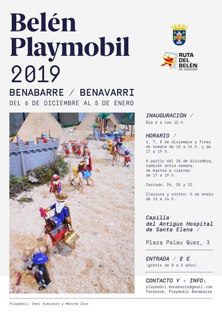 Belen Playmobil 2019 Benabarre-Benavarri