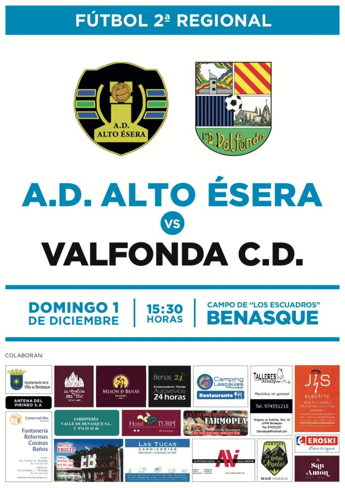 Benasque. Fútbol segunda regional día 1