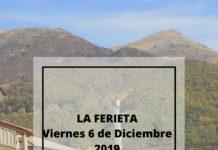 Cartel de La Ferieta 2019 en Castejón de Sos