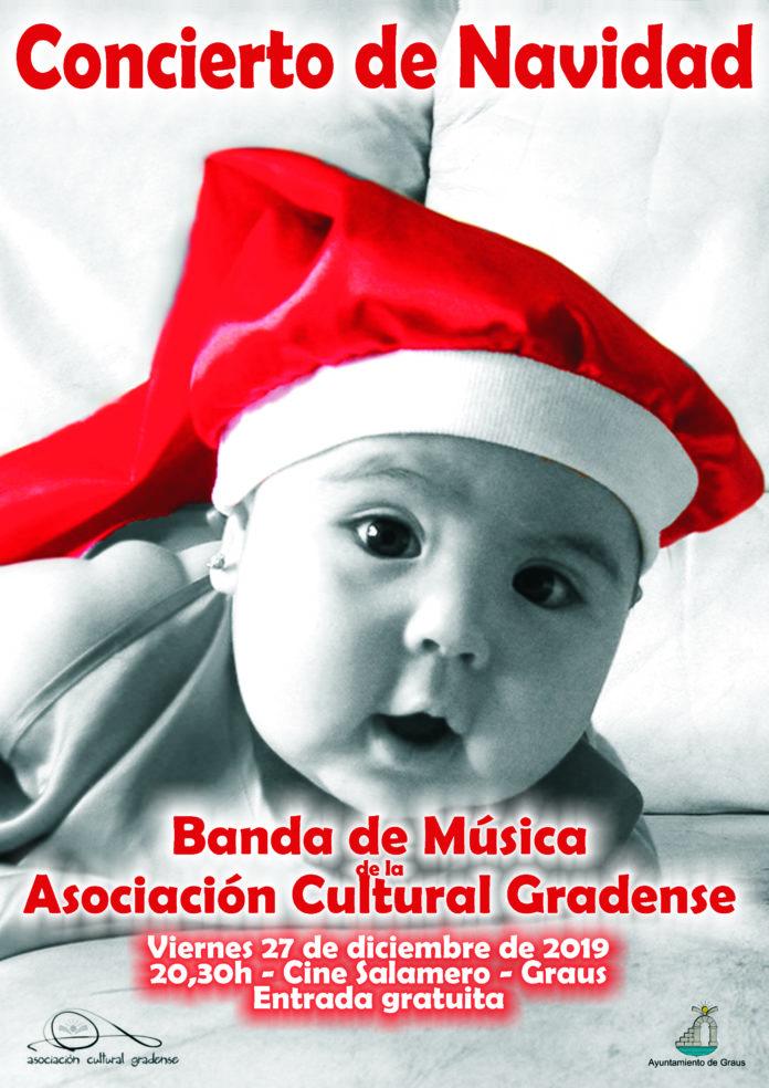 Graus Concierto de Navidad de la Banda de la AC Gradense