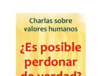Graus Cartel de la charla valores humanos