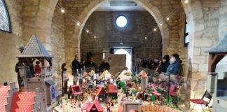 Una vista del divertido Belén Playmobil en Benabarre (Foto: Yolanda Castelló)