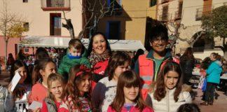 Los más jóvenes tuvieron un especial protagonismo en la Feria Solidaria (Foto: Yolanda Castelló)