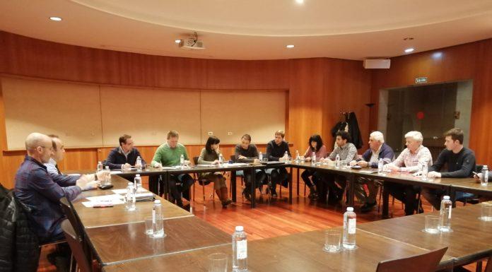 Los integrantes de la comisión ejecutiva de Adelpa (Foto: Adelpa)