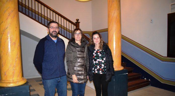 Adolfo Núñez, Eva Usón y Merichel Puig-Pey, tres personas estrechamente vinculadas con los últimos años de la AMYPA (Foto: Angel Gayúbar)