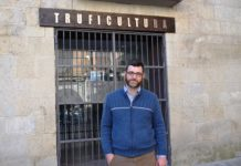 David Royo, presidente de los truferos aragoneses (Foto: Angel Gayúbar)