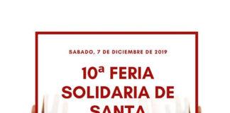 Cartel de la Feria de Santa Bárbara