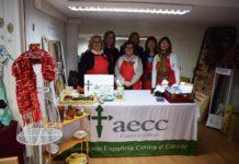 """Voluntarias de la Junta Local de la AECC en la antigua """"Casa David"""" (Foto: Angel Gayúbar)"""
