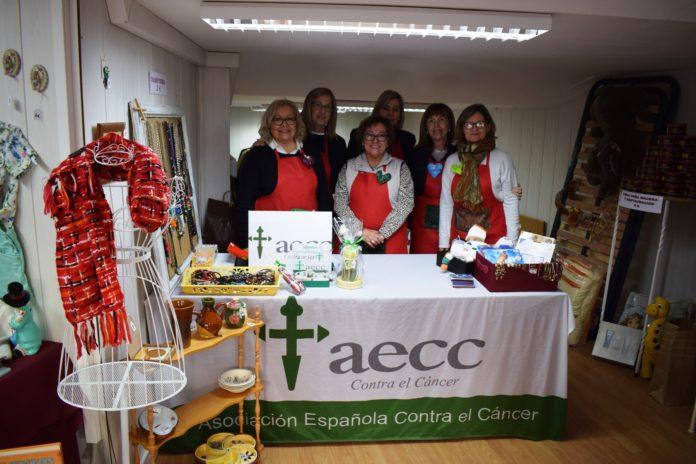 Voluntarias de la Junta Local de la AECC en la antigua