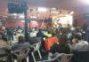 Aspecto d ela subasta celebrada el sábado en el Centro Deportivo (Foto: Angel Gayúbar)