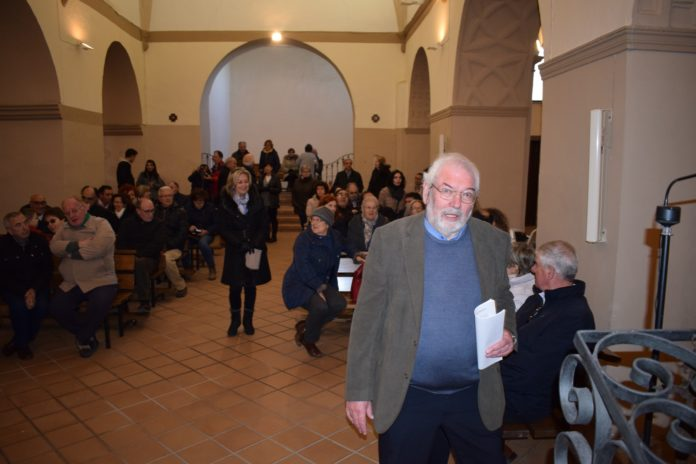 Francisco Martí en una de sus conferencias (Foto: Angel Gayúbar)