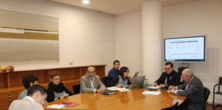 Reunión de la Comisión de Desarrollo y Sostenibilidad esta mañana en la DPH (Foto: DPH)