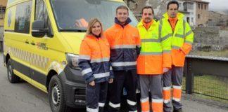 Personal de la UME de Sobrabe y Ribagorza (Foto: Servicio especial)