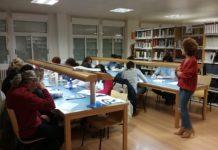 Un momento del taller de escritura grausino (Foto: Pepa Mur)
