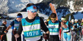 Esquiadores concentrados justo antes de salir en la edición de 2019 (Foto: ADHB)