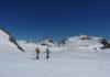Practicantes de esta novedosa modalidad en la nieve (Foto: Servicio especial)