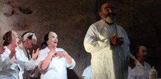 Una escena de la obra Los viejos no deben enamorarse (Foto: Servicio especial)