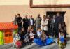 Autoridades y vecinos en la inauguración de la Escuela Infantil de Campo (Foto: Servicio especial)