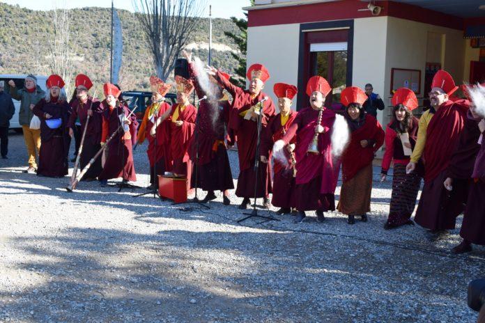Ceremonia del Losar de 2146 (Foto: Angel Gayúbar)