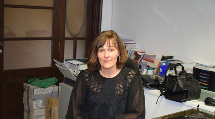 Maite Bardají, alcaldesa de La Puebla de Castro (Foto: Angel Gayúbar)