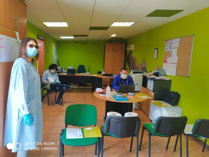 Dependencias habilitadas en Ribagorza como uno de los centros de distribución de alimentos (Foto: Servicio especial)