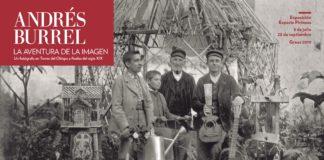 Cartel de la exposición sobre Andrés Burrel