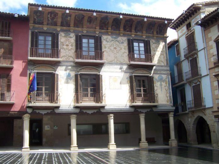 Casa Heredia, en Graus, sede de la Comarca de La Ribagorza (Foto: Angel Gayúbar)