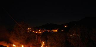 Las fallas no recorrerán este año los montes de Laspaúles (Foto: Servicio especial)