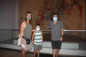 Familia Clusella desde Badalona.